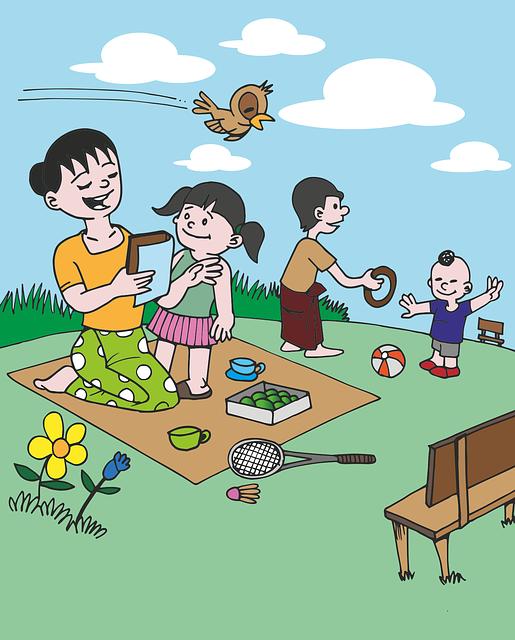 Passi presi quando insegni al tuo bambino a giocare a tennis