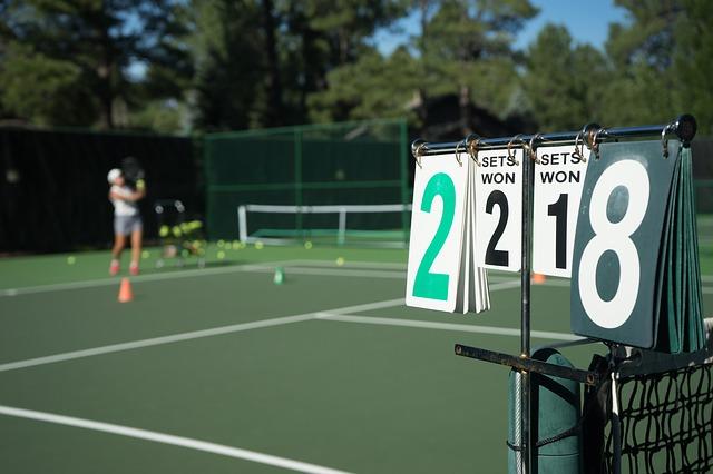 Tennis come una finestra di realizzazion